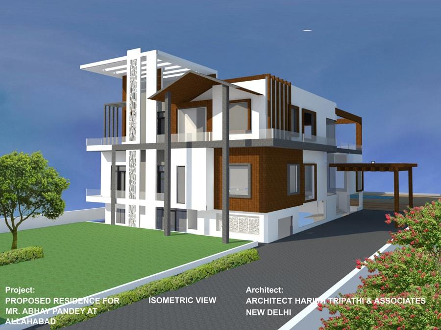 Residence  Rajbhawan Allahabad